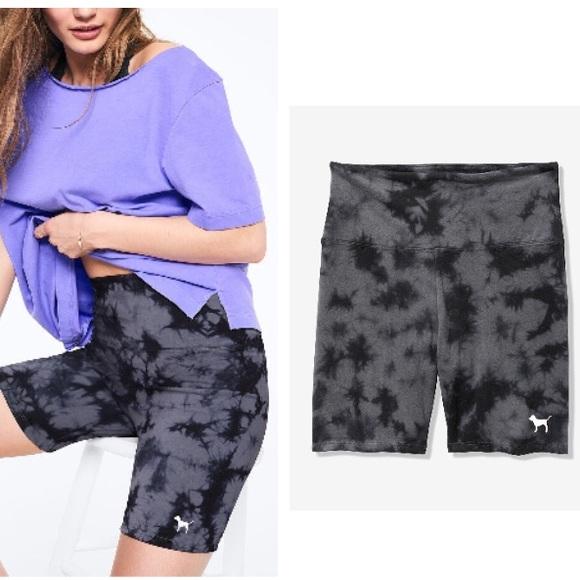 c211a83c4cced PINK Victoria's Secret Shorts | Vs Pink Tie Dye High Waist Cotton ...